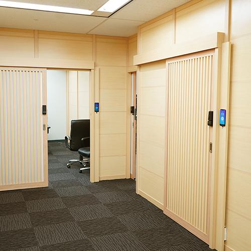 木調会議室