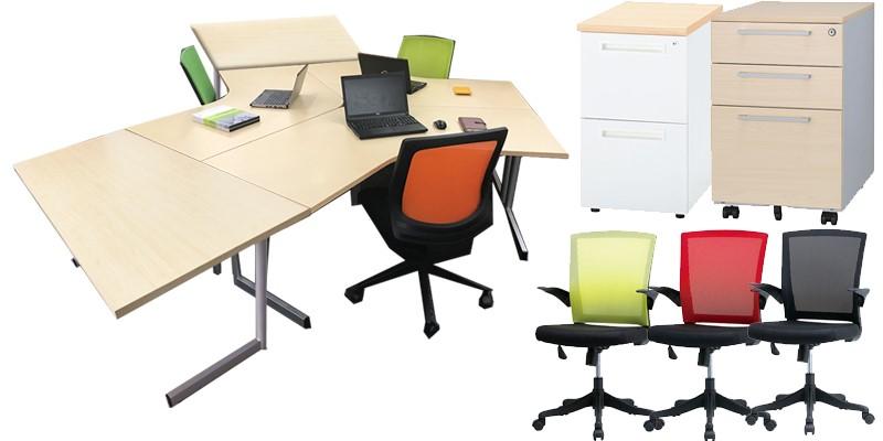 オフィス家具のリニューアル