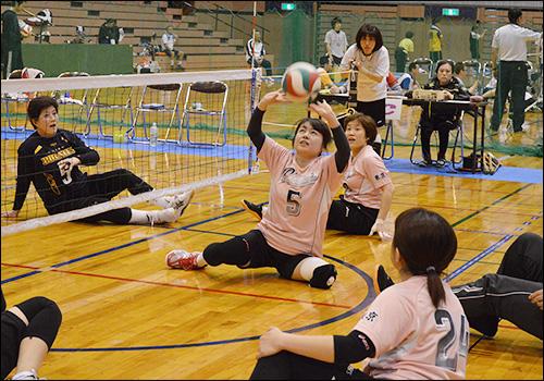 「第18回 日本シッティングバレーボール選手権大会」開催 13日(土)から14日(日)まで:中央区総合スポーツセンター