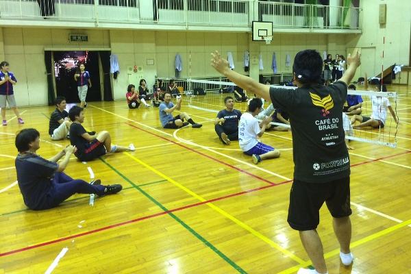 シッティングバレーボールを気軽に体験できる教室を開催 ~日本パラバレーボール協会・オフィス24共同開催~