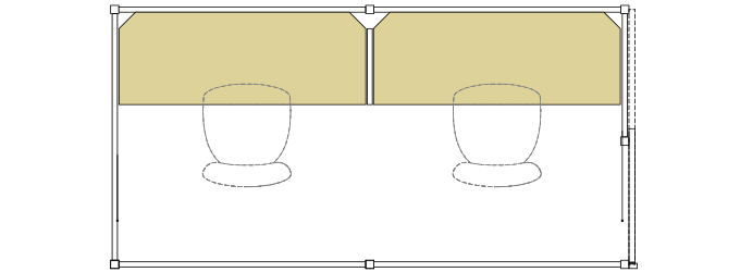 EDOブースLサイズ配置