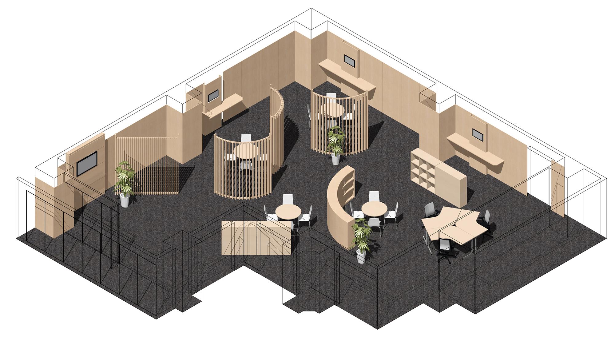 木調オフィス・スマートロック対応の会議室にリノベーション 施工費用を最大50%カット「EDO会議室」 リリース