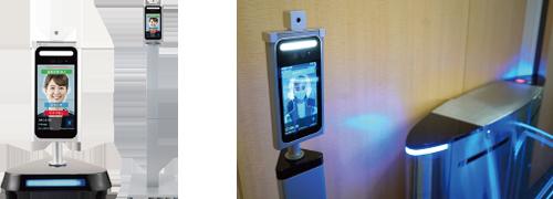 顔認証システム、個室ブース